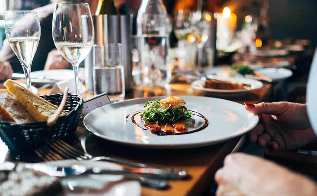 wedding catering Hunter Valley