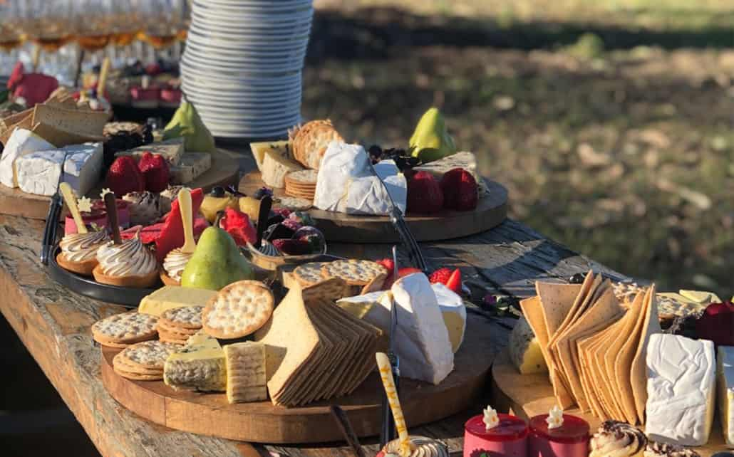 Table of cheeses